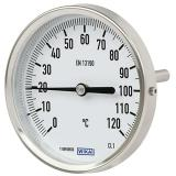 Биметаллический термометр накладной